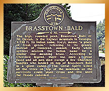 Brasstown Bald Placque