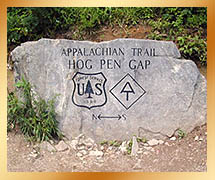 Hog Pen Gap Appalachian Trail