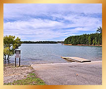 Lake Nottely Dam Boat Ramp